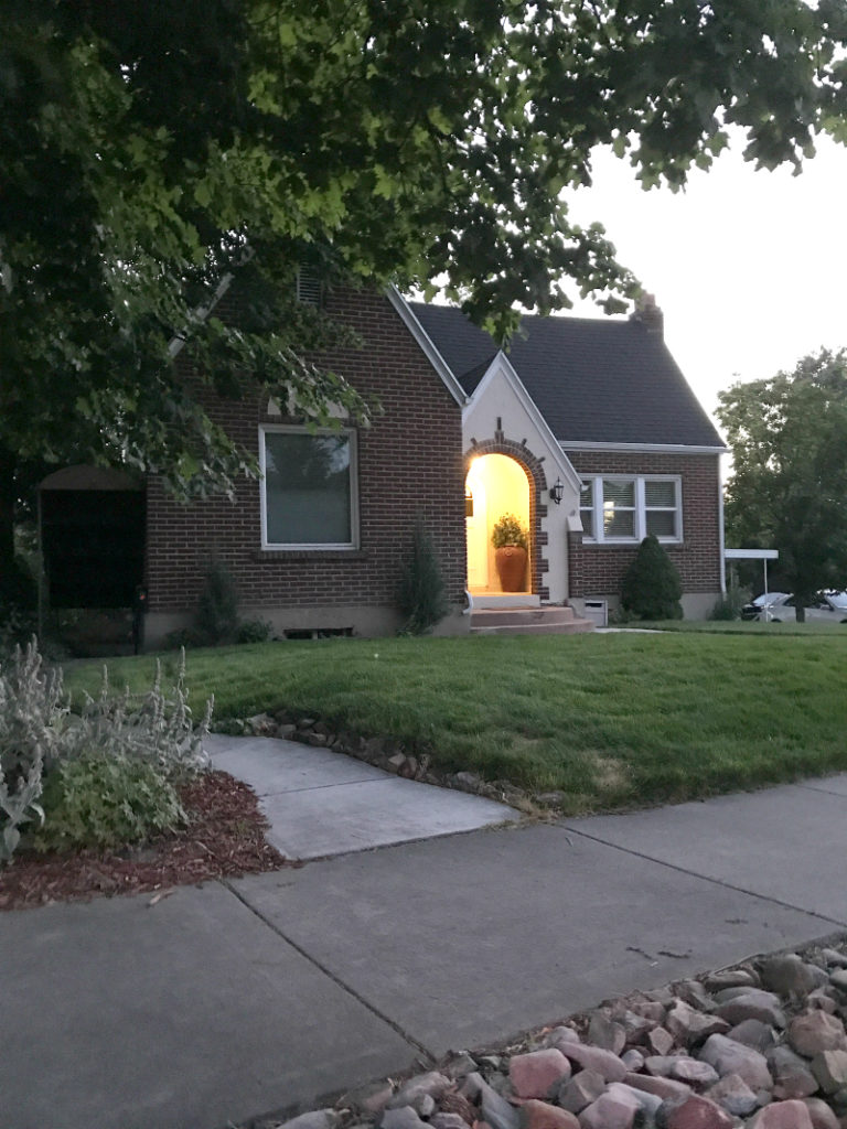 Cute brick house in Salt Lake City