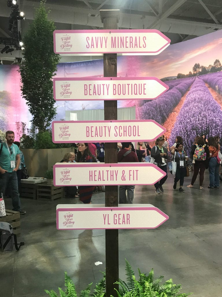 An Expo sign at the International Young Living Convention 2017