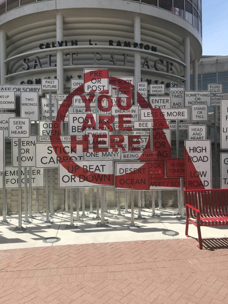 'You Are Here' at the Salt Palace in Salt Lake City