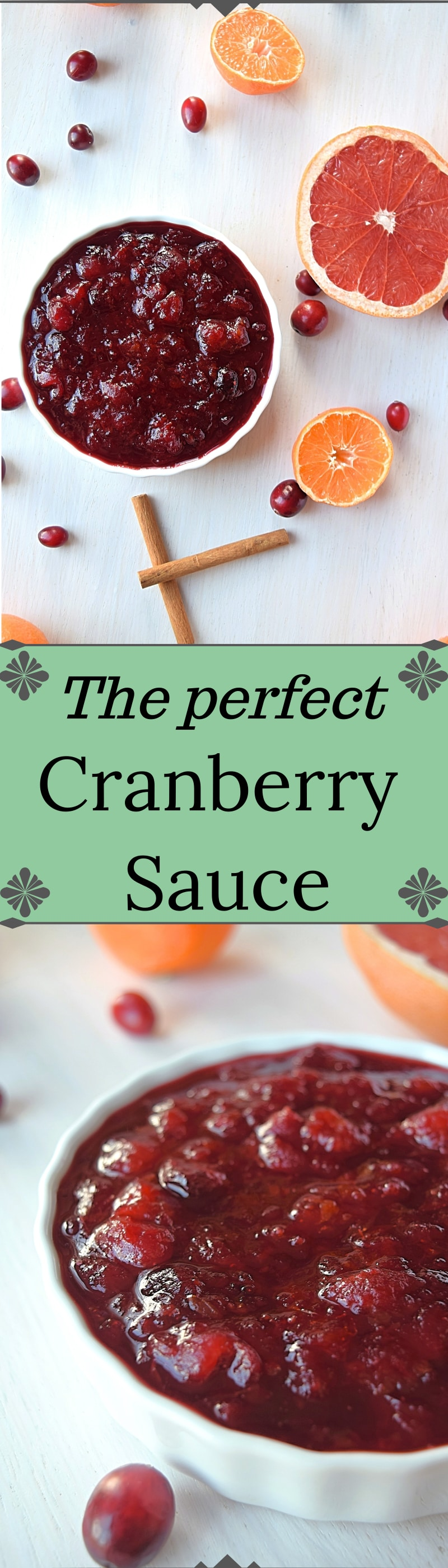 The perfect Cranberry sauce